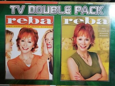 Reba Complete 1 First & 2 Second Season (DVD). Brand New Factory Sealed.