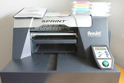 Anajet Sprint Direct to Garment DTG Printer