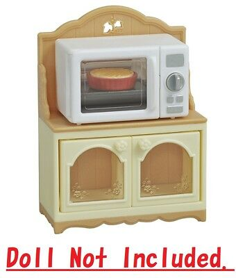Sylvanian Families Kitchen Cabinet  Microwave Ka-425(doll not included)