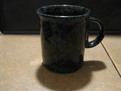 Green Agate Coffee Mug By Bennington Potters Of Vermont