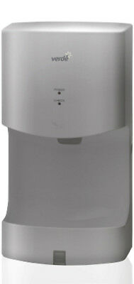 New Verde Mini AK2630T-S Automatic Hand Dryer ABS Silver