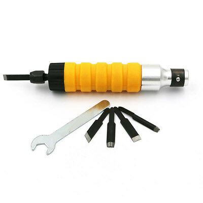 Wood Chisel Carving Tool Chuck Attachment For Electric Drill Flexible Shaft Set