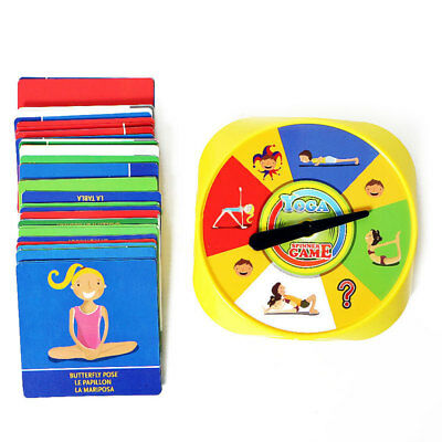 Interactive Desk Card Fitness Plastic Funny Table Christmas Yoga Spinner Game