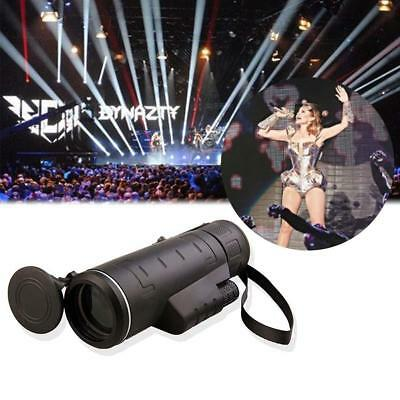 2015 Portable 10X60 Focus Zoom Travel HD Optics BK4 Monocular Telescope Pro GN