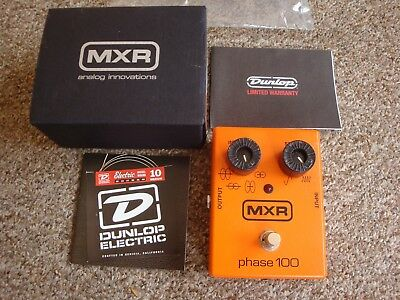 MXR Phase 100 (M107) Phaser effect pedal. USA RRP $269 FREE POST