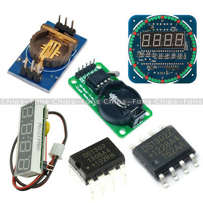 DS1302 0.36″ RTC Real Time Clock Module SOP-8 DIP-8 Arduino AVR ARM Than DS1307