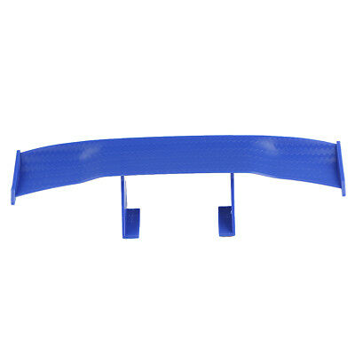 7'' Car Rear Tail Racing Wing Rear Spoiler Decoration Blue For Yamaha Honda BMW