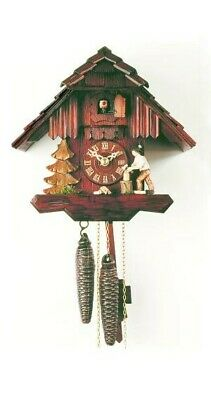Cuckoo Clock Little black forest house RH 1167 NEW