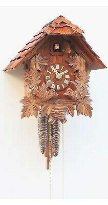 Cuckoo Clock Little black forest house RH 1161 NEW