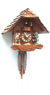 Cuckoo Clock Little black forest house RH 1111 NEW