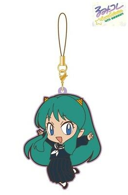 Movic Rumic Collection Rubber Strap Charm 4th Season #A Urusei Yatsura Lum Ramu