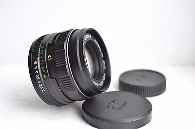 NEW! MC Helios 44M-5 2/58 M42 USSR Russian lens S/N 91245449, with 2 caps!