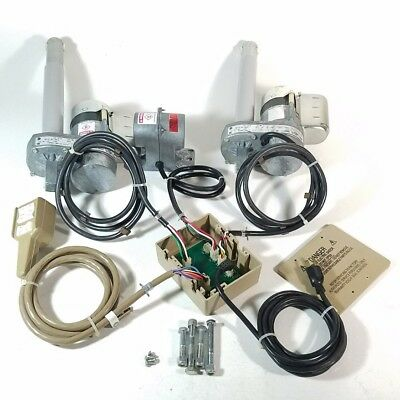 2x Hubbell lift Actuators MC42-1012L with Control hub, massager and Remote