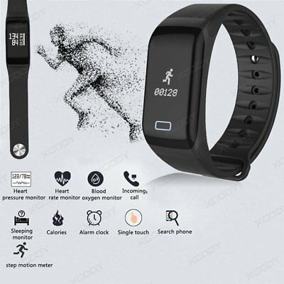 Smart Watch Bracelet Waterproof Wrist Sports Fitness Tracker For iPhone Android