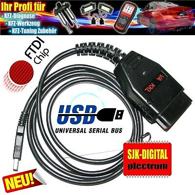 OBD2 USB KKL Diagnose Interface für VAG VW Audi VWTool Software Vollversion !!!