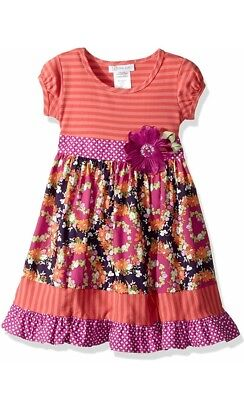 Bonnie Jean 4 4T Girls Girl's Boutique Style Party Spring Easter Dress