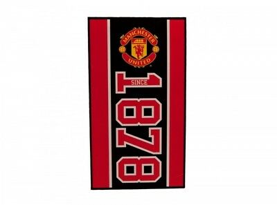 Manchester United FC Football Club Établi Design Serviette Bain Douche Officiel