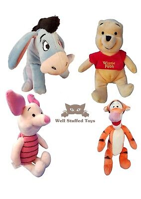 Winnie The Pooh Small Plush Soft Toy Tigger Piglet Eeyore 20cm
