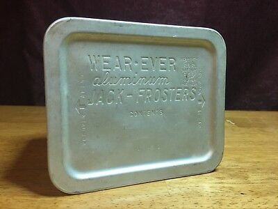 Vintage Wear-Ever Aluminum Jack-Frosters Food Container