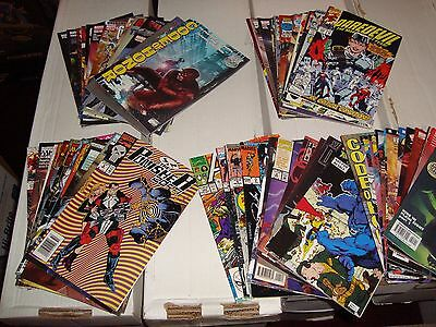 Marvel Comic Book Lot of 60 FN - VF Condition /  Titles Listed X-MEN / Punisher