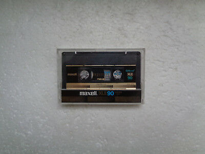 Vintage Audio Cassette MAXELL XLII 90 From 1982 - Fantastic Condition !!