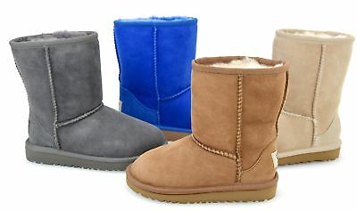 3754b8aaf82 UGG AUSTRALIA JUNIOR Girl Over Ankle Boots Booties Code Classic 5251T T -  5251 K