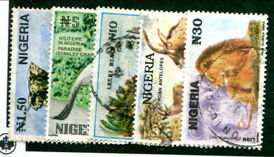 Used Nigeria #615A - 615E (Lot #13940)