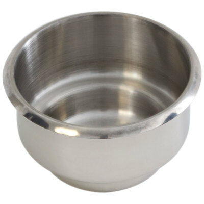 Jumbo Dual Size Stainless Steel Drop In Cup Holder For Poker Table + Boat - NEW!