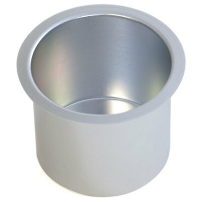 SILVER Jumbo Aluminum Drop In Cup Holder For Poker Table and Boat - Free Ship!