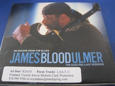 James Blood Ulmer- No Escape from the Blues: Electric Lady Sessions  CD