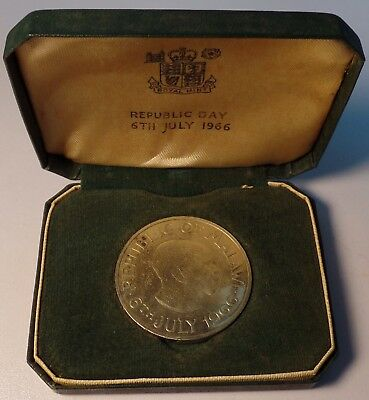 1966 Republic of Malawi Proof One Crown ~ In Original Mint Box ~ 6th July 1966