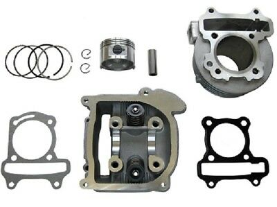 60cc Big Bore Kit Cylinder 69mm Head Piston Rings Chinese Scooter Moped 50cc GY6