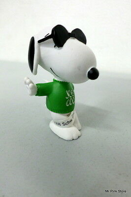 SNOOPY Joe Cool 5 Cm Schleich 22003 Figure Peanuts New Nuovo