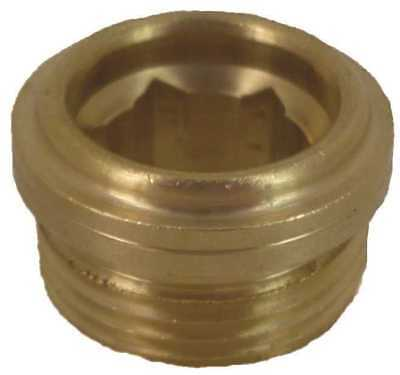Brass Bibb Seat For Central Brass, 7/16 In. X 24 Thread
