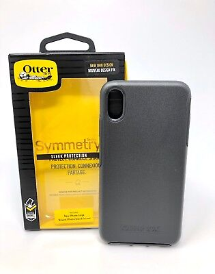 Genuine Otterbox Symmetry Series Sleek Protection Case for iPhone XS MAX BLACK