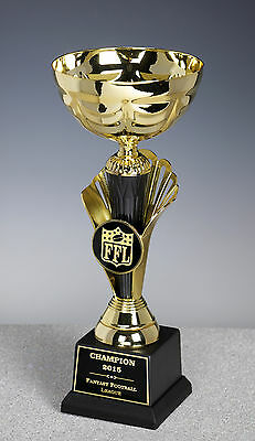 Fantasy Football Classic Gold Cup LARGE Award Trophy Engraved