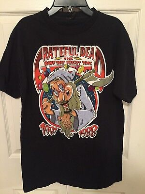 Vintage 1987 Grateful Dead The Band That Forgot Time Tee Shirt - Oakland, Ca