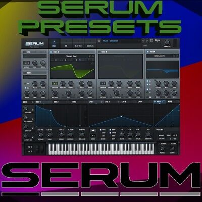 50+ Xfer Serum Presets + Instruments - EDM House Future Bass Pop