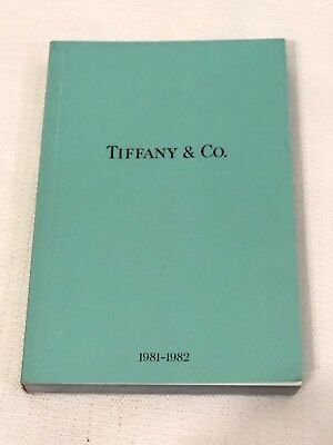 Vintage 1981-1982 Tiffany & Company Jewelry Catalog Blue Collection