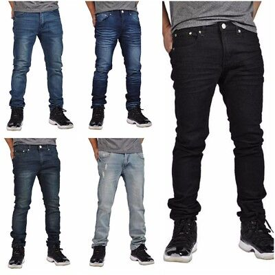 MEN Jeans Slim-STRETCH FIT SLIM FIT- Pants - SKINNY Jeans