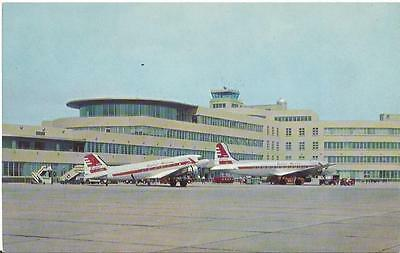 Cp Panoramique Airport Pittsburgh Douglas Dc 3 Capital Airlines 22Cm X 13,9Cm