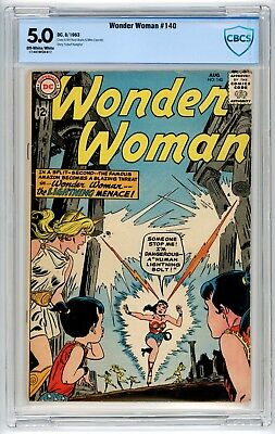 Wonder Woman #140 CBCS 5.0 Silver Age DC Ross Andru Mike Esposito Cover phl1