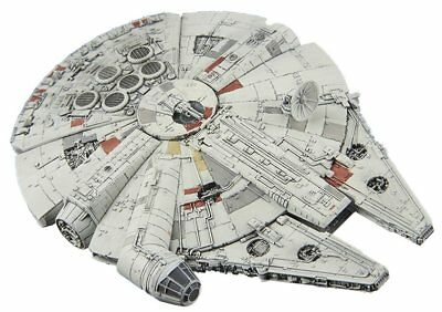 Bandai Vehicle Model 006 Star Wars Millennium Falcon -Story Of Roue one-