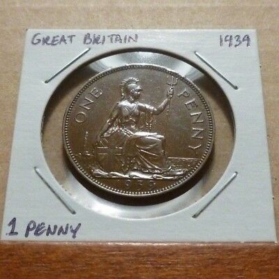 1 PENNY COIN - 1939 - Great Britain