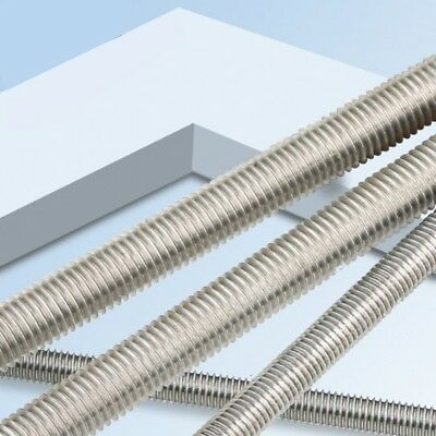 G304 Stainless Steel Full Thread Rod All Threaded Studding M6/M8/M10/M12/M14-M20