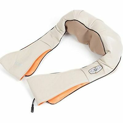 Shiatsu Neck and Back Massager with Heat and Timing Function Kneading Massage Fo