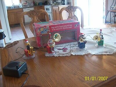 Mr. Christmas Musical 21 Song's Bugs Bunny Brass Band  Works Great With Box