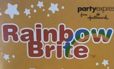 Vintage Rainbow Brite Birthday Party Napkins Blow Outs And Table Cover