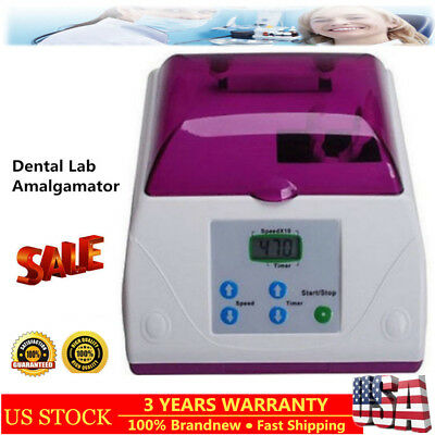 Dental Lab Electric HL-AH High Speed Amalgamator Amalgam Capsule Mixer Equipment