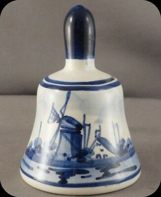Hand Painted Delfts Blauw Delft Blue Holland Bell